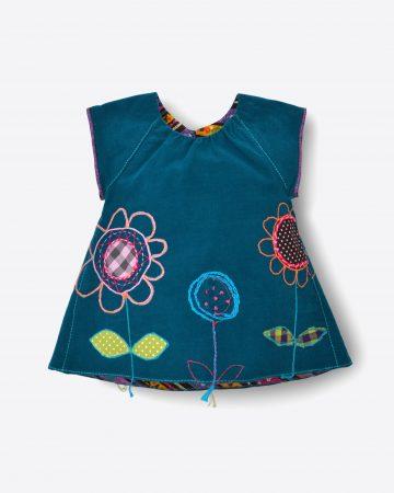 petrol-dress