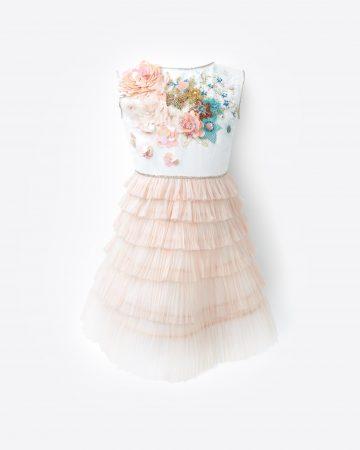 plisse-dress
