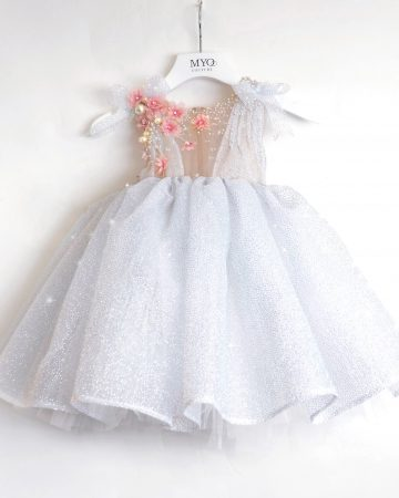 Silver Sparkle Baby Dress-01